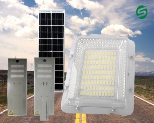All In One Solar Street Light Company Image